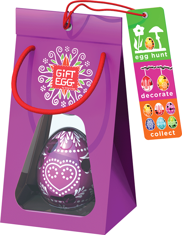 Purple Easter Gift